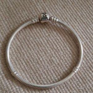 Pandora Moments barrel clasp charm bracelet